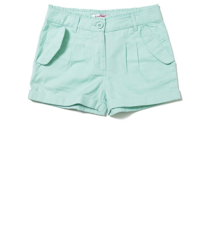 Nauti Nati Turq Girls Shorts