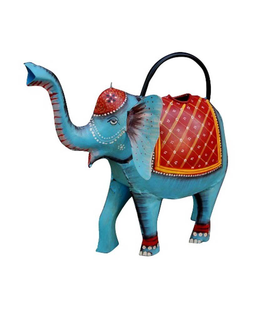 Anvy Blue Iron Decor Elephant Candle Holder Buy Anvy Blue Iron Decor Elephant Candle Holder At