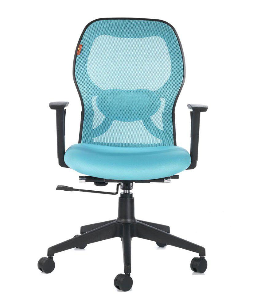 7417245946e Bluebell Ergonomic Kruz Medium Back Office Chair - Buy Bluebell ...