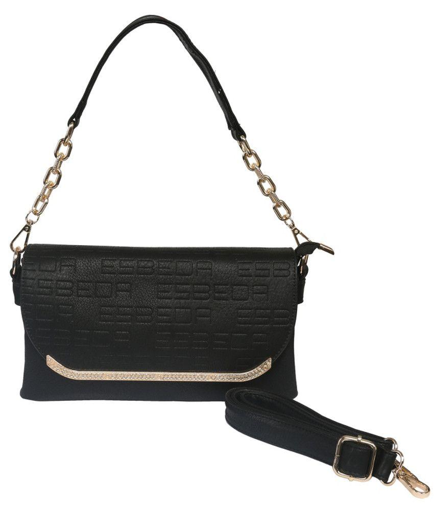 Esbeda Esbd2133black Black Sling Bags