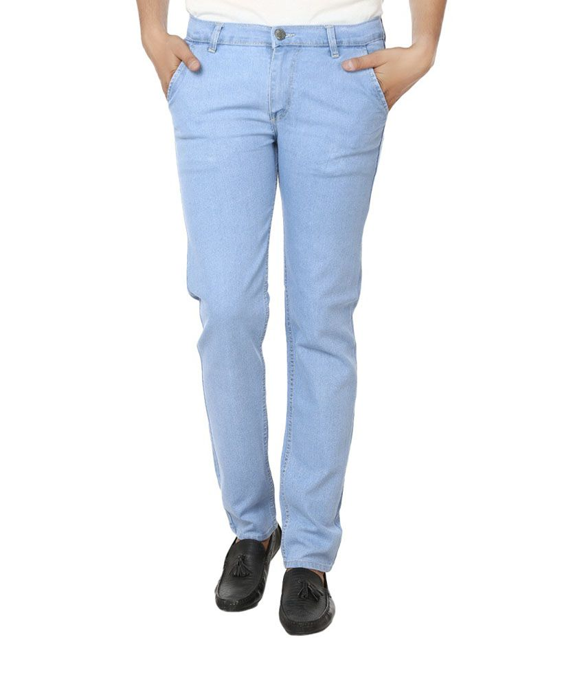 Alan Woods Lycra Stretchable Blue Jeans