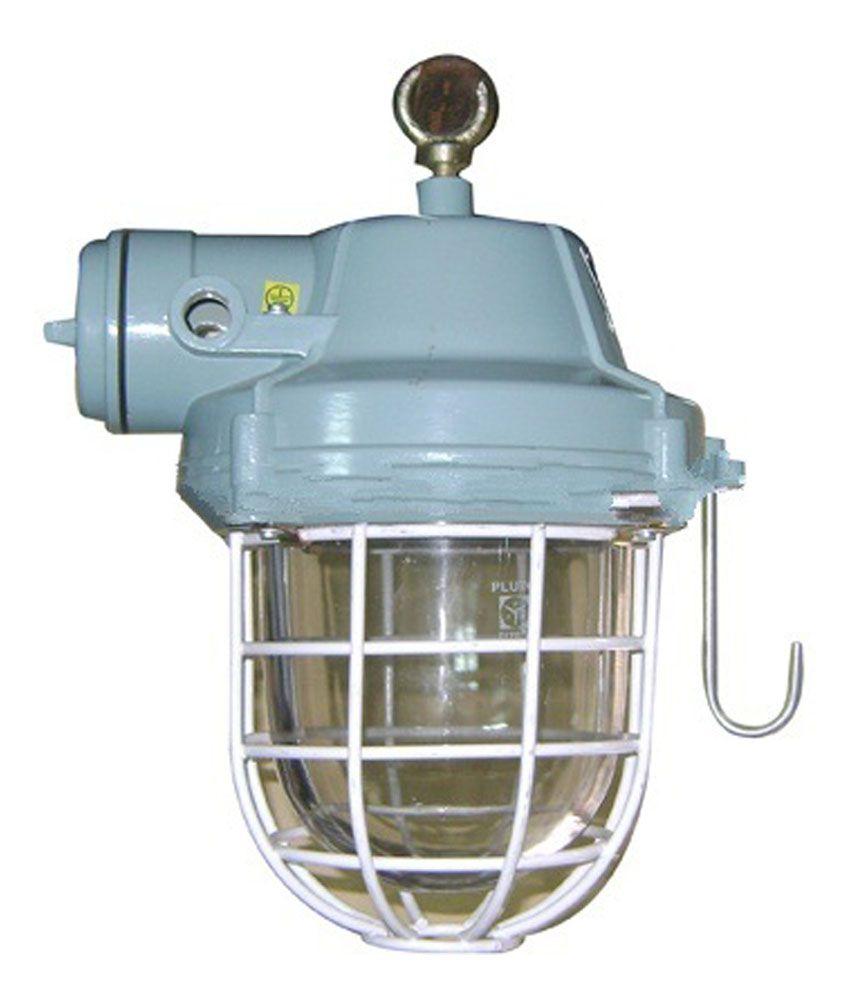 Led Light Fittings Price: Led Light Zone 20 Watt Flp Well Glass Led Fitting: Buy Led