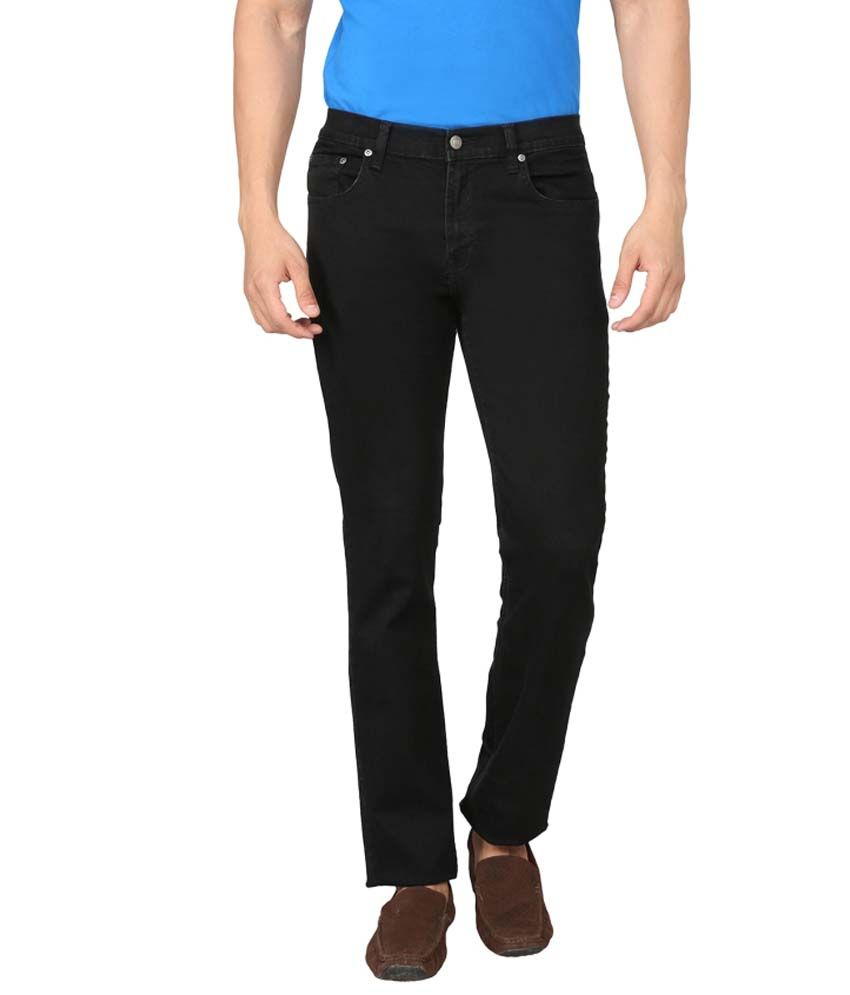 Live In Black Regular Jeans