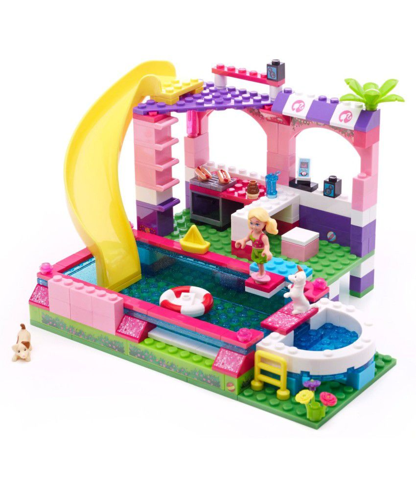 Mega Bloks Mega Bloks Barbie Chelseapool Party