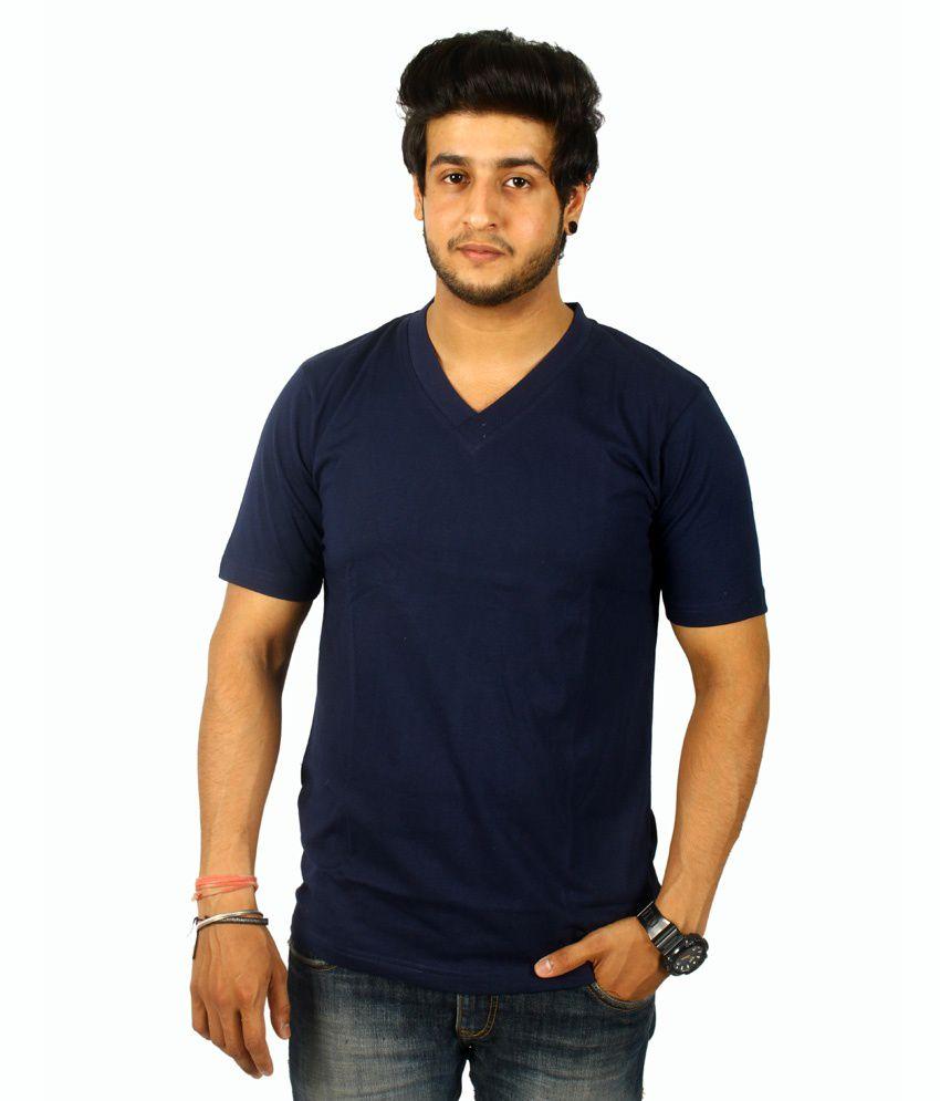 Centimeter V Neck Trendy T Shirt For Men