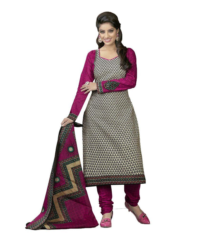 Cotton dress materials buy online