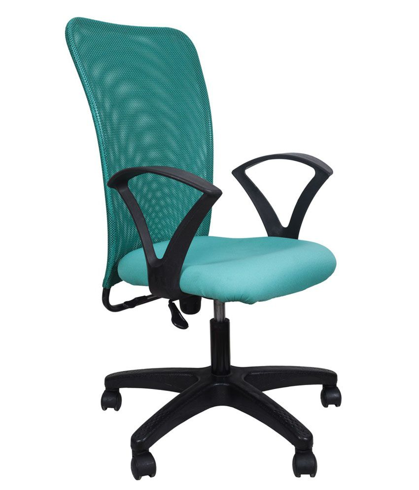 Buy Office Chair In Turquoise