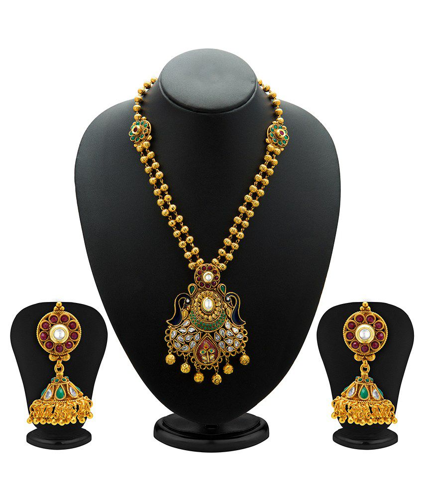 Sukkhi Latested Mayur Necklace Set
