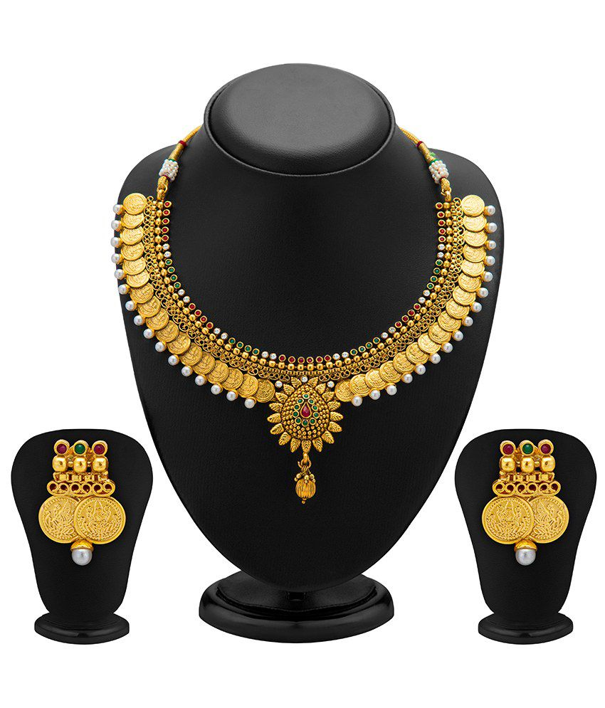 Sukkhi Luminous Antique Necklace Set