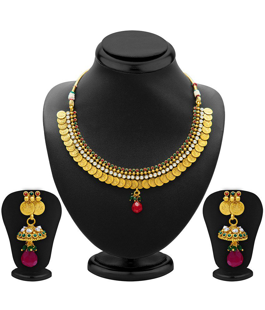Sukkhi Splendid Antique Necklace Set