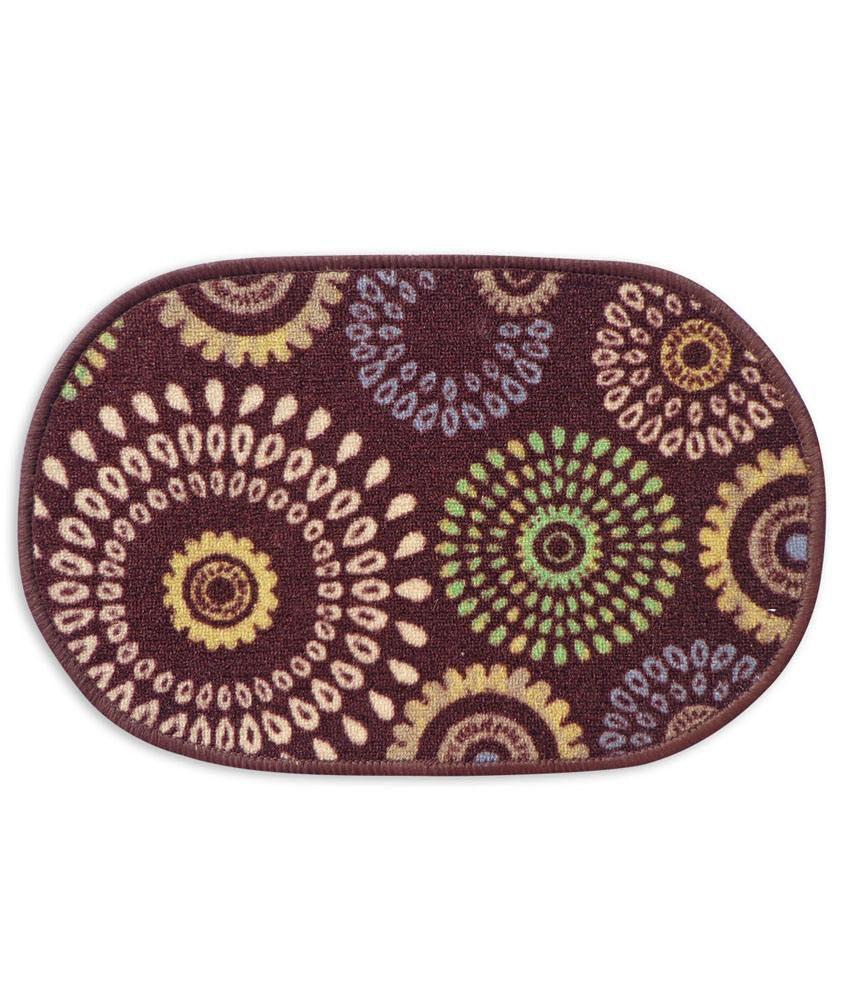 Fantasy Taba Nylon Multicolour Floor Mat