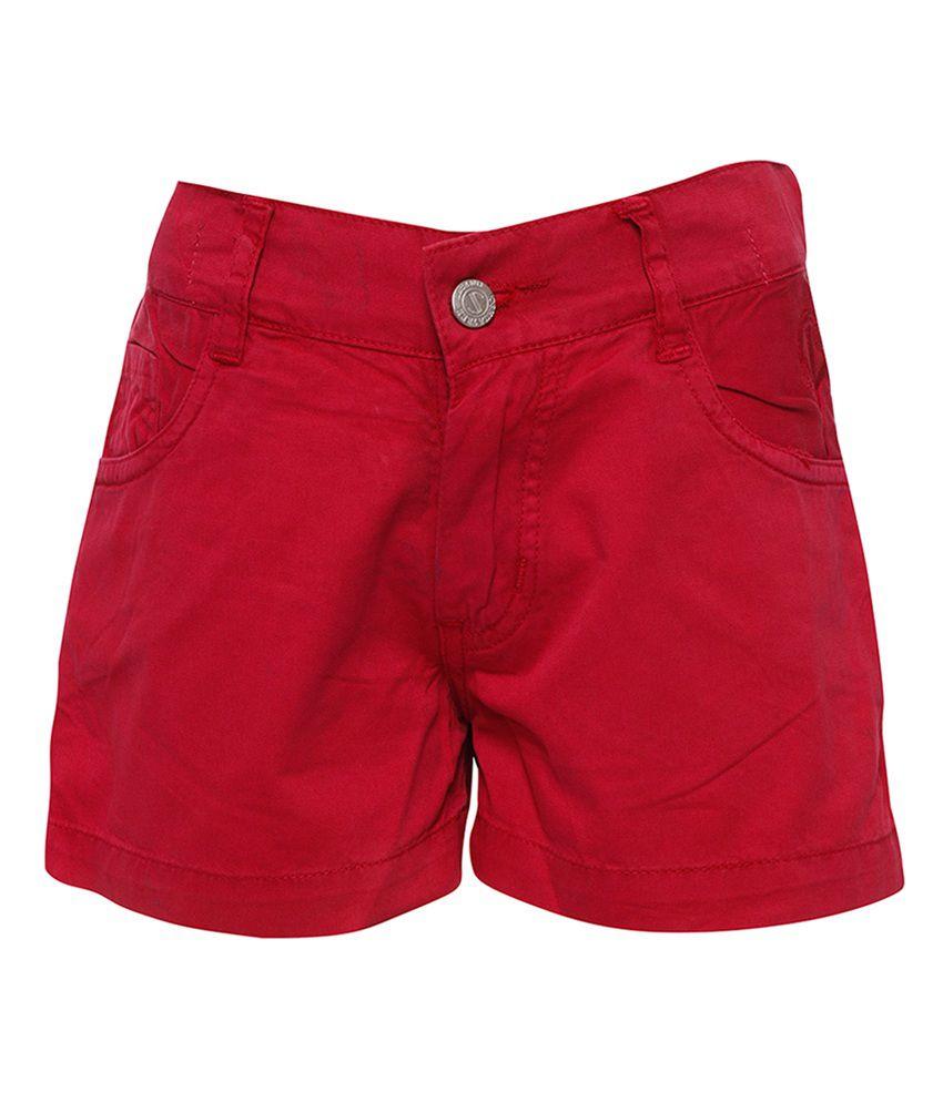 Joshua Tree Navy Cotton Printed Shorts