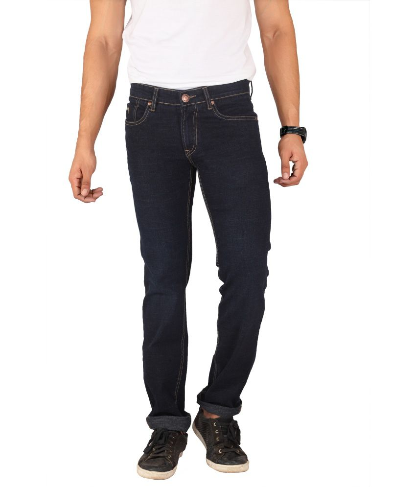Mayback Black Slim Jeans