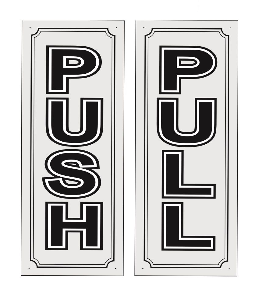 buy ars push pull signs online at low price in india snapdeal