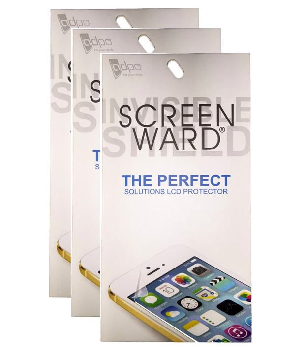 Screenward AntiGlare Screen Guard For Pack Of 3 For Gionee Elife S7