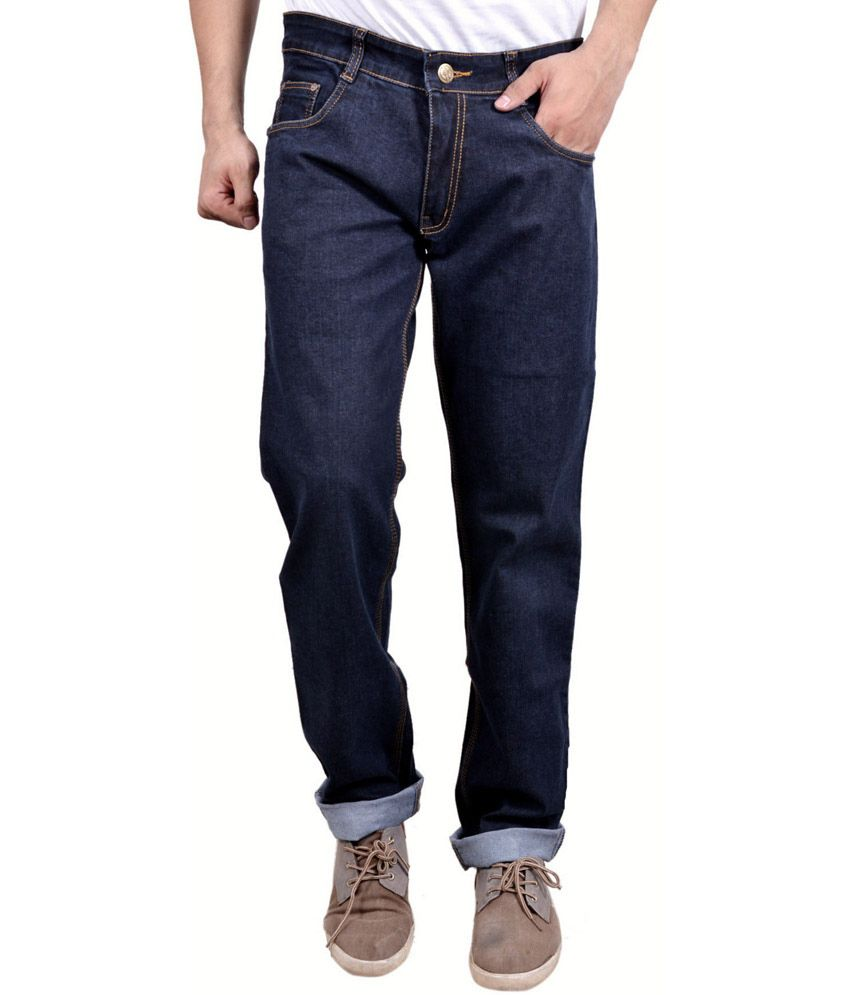 Studio Nexx Blue Relaxed Jeans