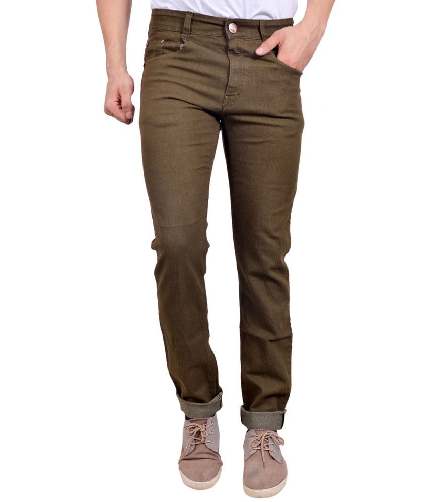 Studio Nexx Gold Cotton Regular Fit Jeans
