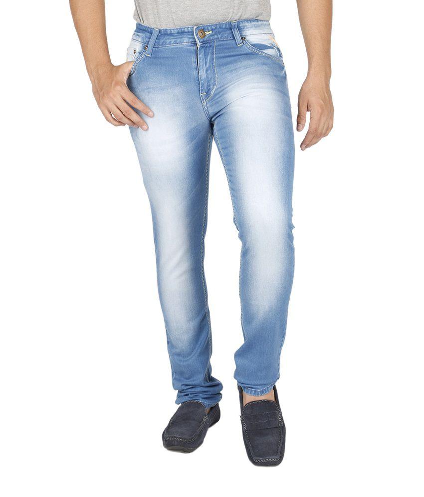 Texas Blue Cotton Jeans