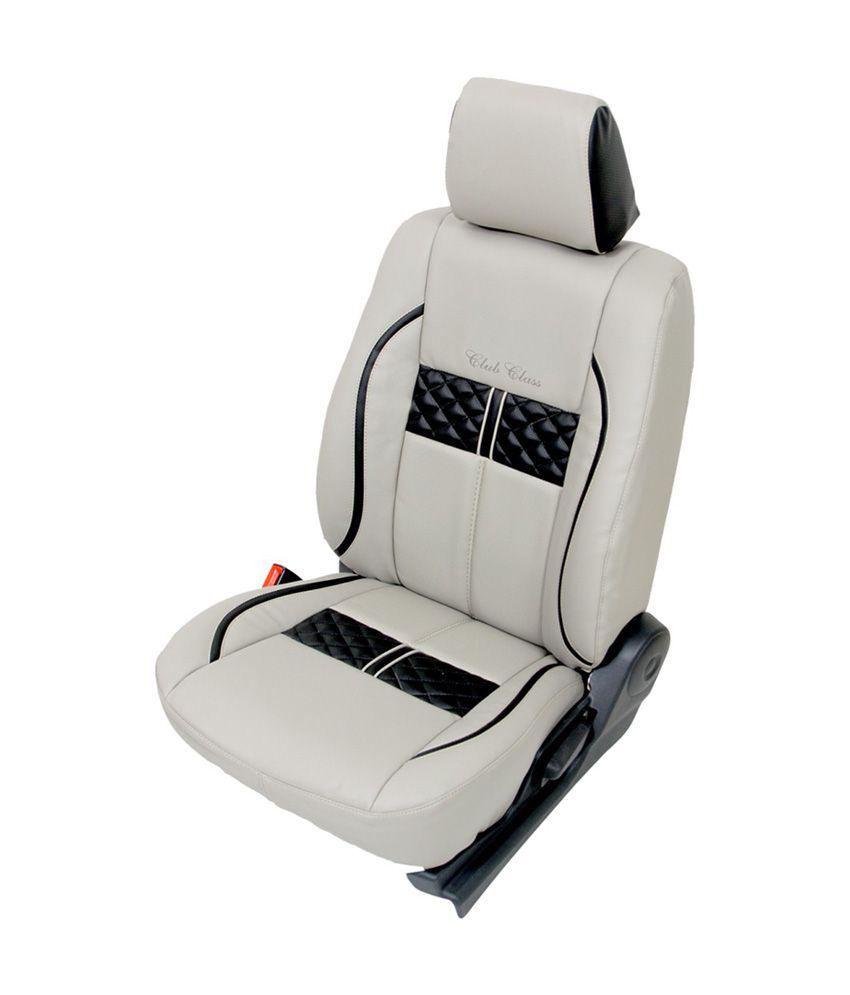 Club Class Brand Toyota Etios Liva Car Seat Cover Black