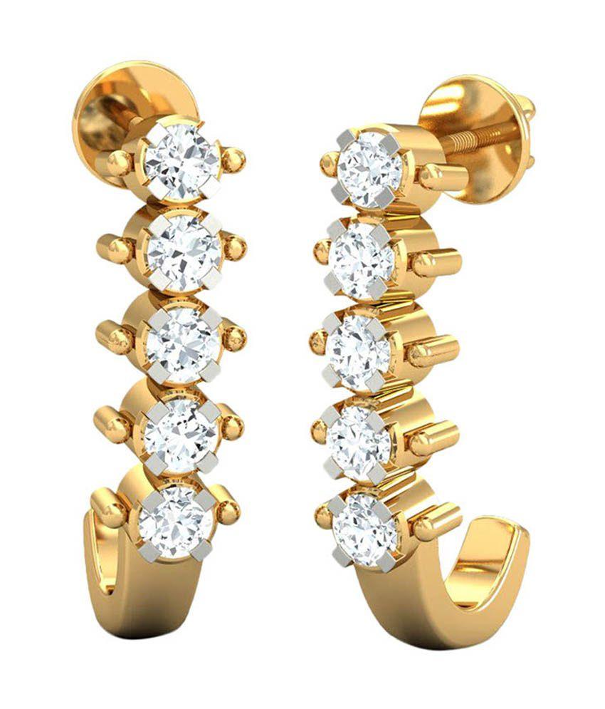 Kamakhya Jewels Gold 14Kt Balis