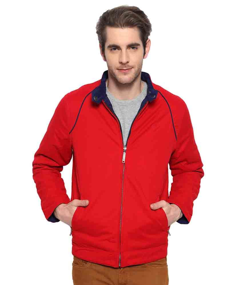 ce76bc4595c Allen Solly Red Reversible Jacket - Buy Allen Solly Red Reversible Jacket  Online at Best Prices in India on Snapdeal
