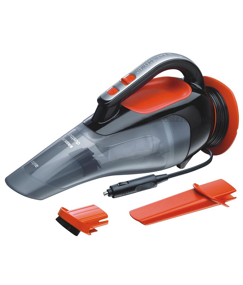 Black Decker Adv1210 12vdc Car Vacuum Cleaner Online At Low Price In India On Snapdeal