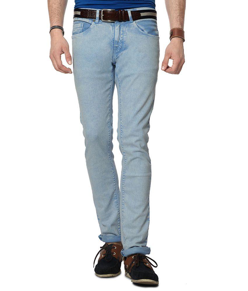 People Blue Slim Fit Jeans