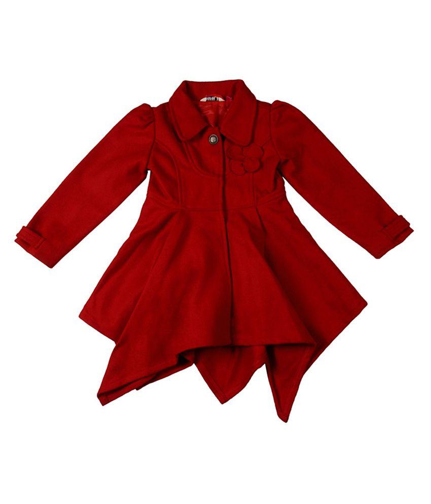 People Red Long Sleeves Jacket