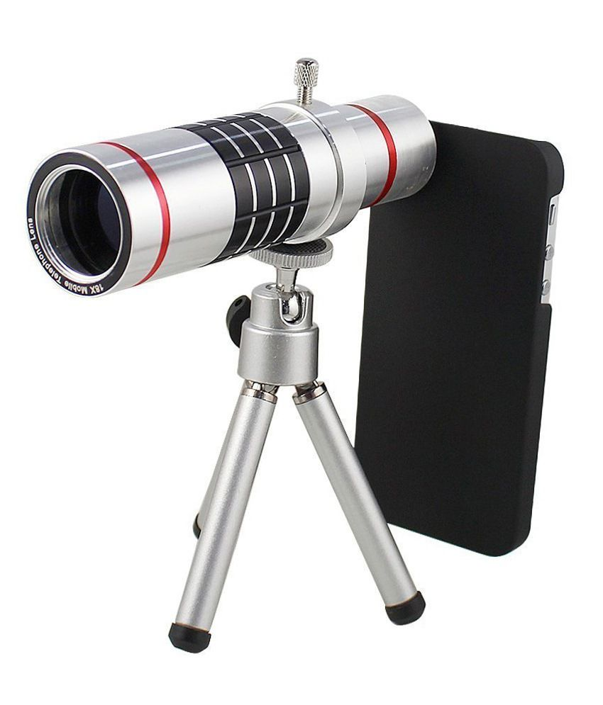 Smiledrive 18X Telescope Lens Kit Set for Apple iPhone 6 Plus with Zoom Lens, Back Cover and Mobile Tripod