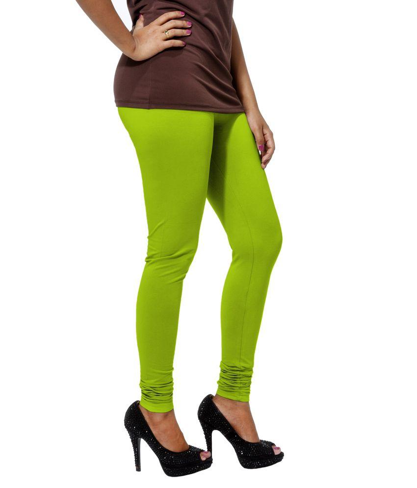 5a5448ea51d89d Go Colors - Bright Green - Ladies Churidar Price in India - Buy Go ...