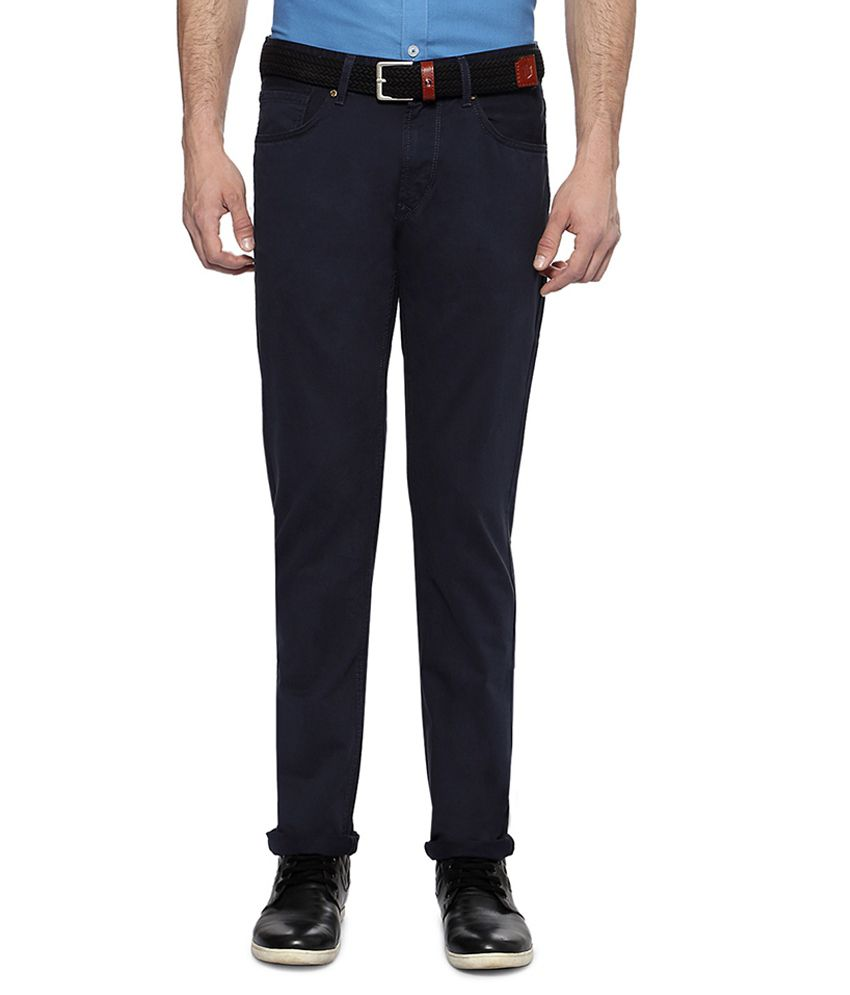 Peter England Blue Casual Slim Fit Jeans