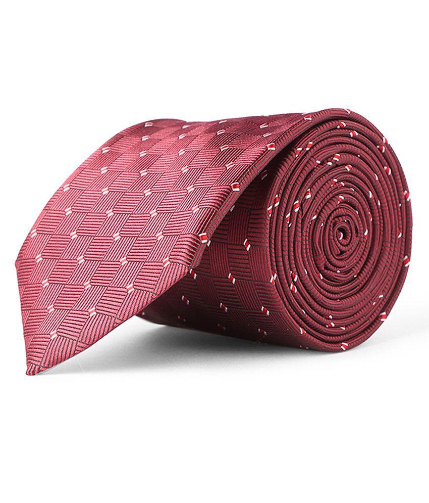 Maroon Casual Tie