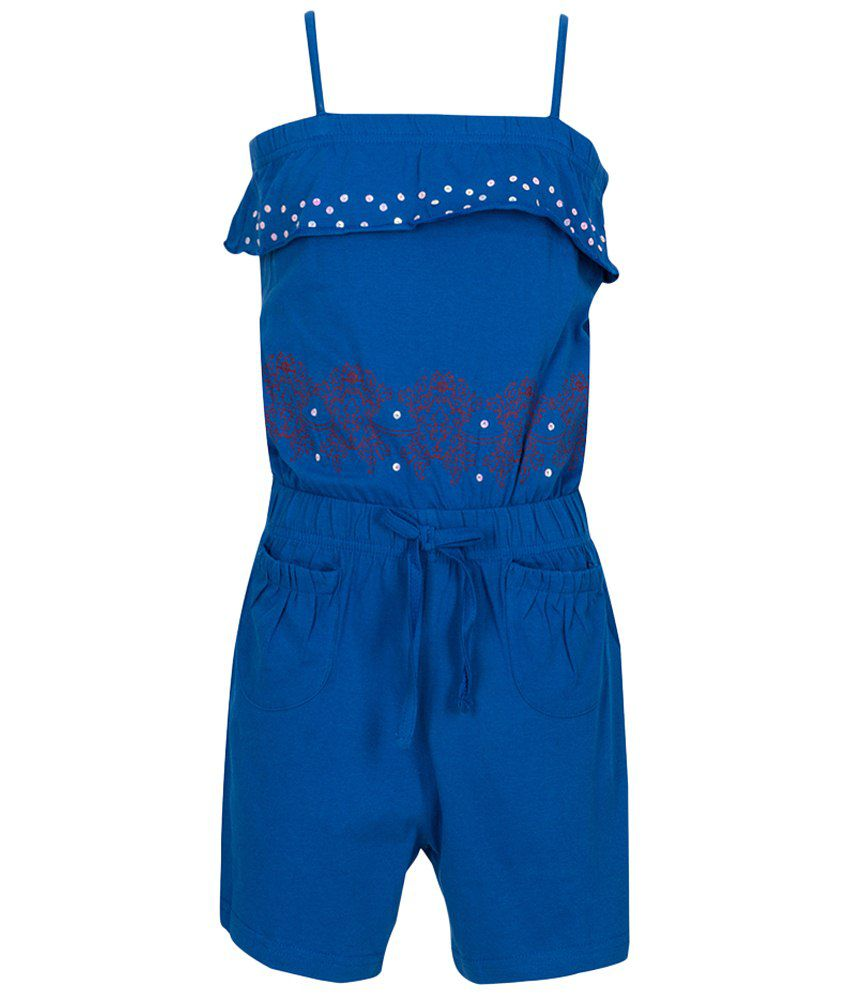 Miss Alibi Navy Dungaree