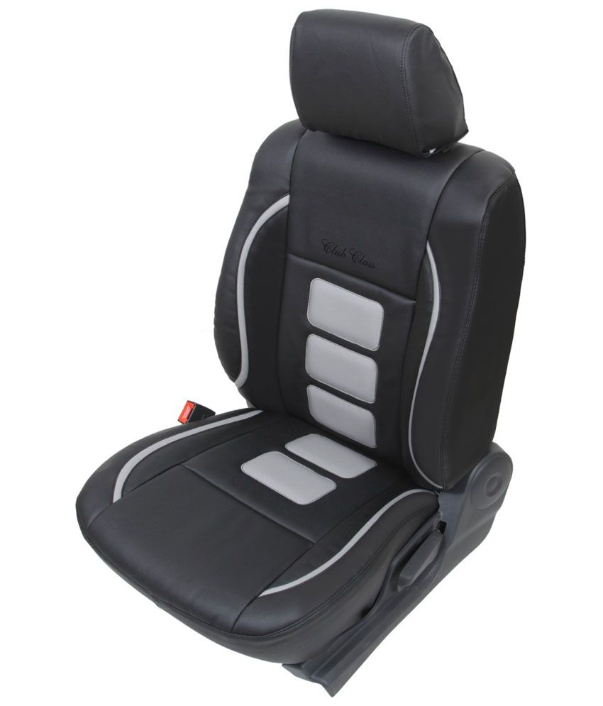 Club Class Black PU Leather Seat Cover For Maruti Swift