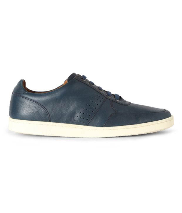 Louis Philippe Blue Lifestyle Shoes Great price