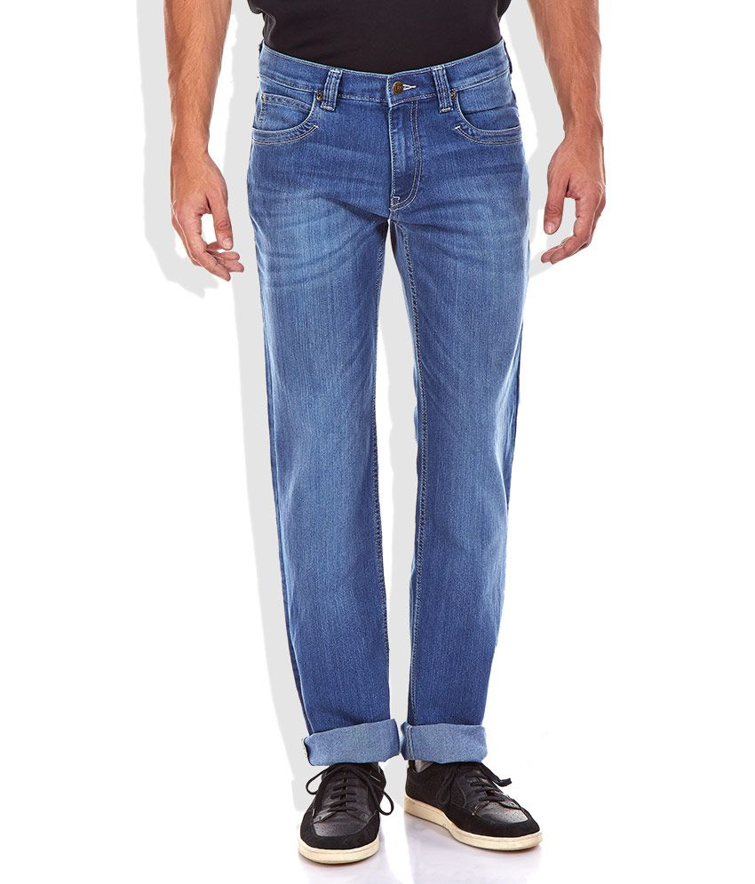 Lee Blue Straight Fit Jeans