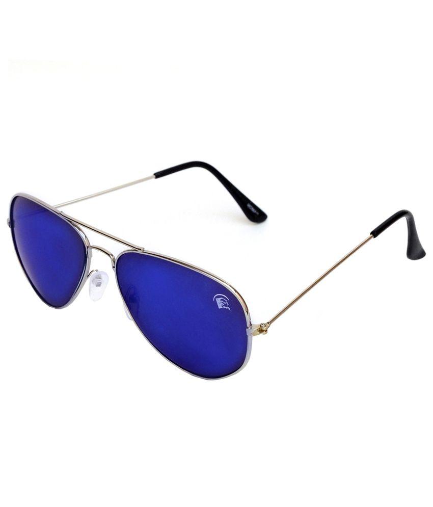 Rinoto Silver Metal Sunglasses