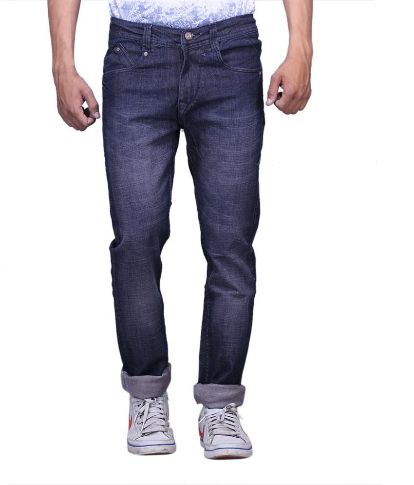 X-cross Blue Denim Regular Fit Jeans