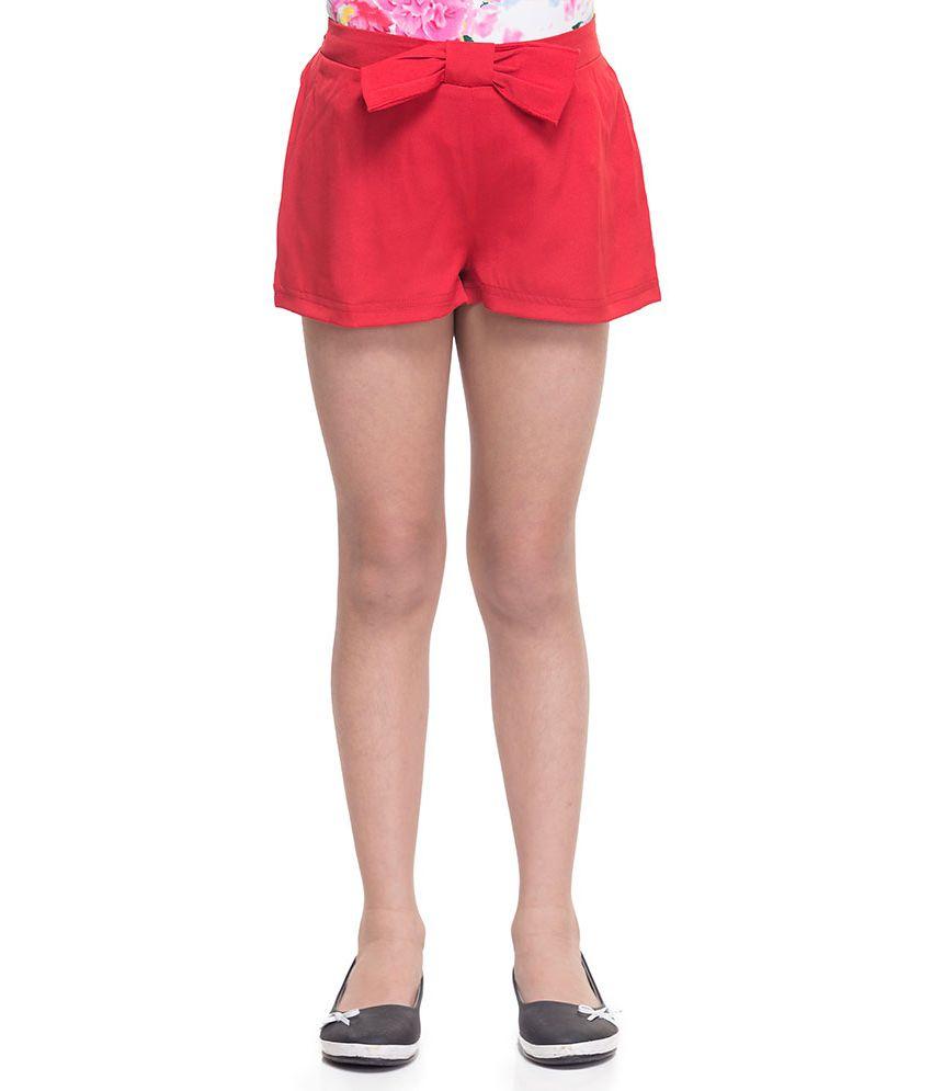 Oxolloxo Synthetic Elastic Shorts