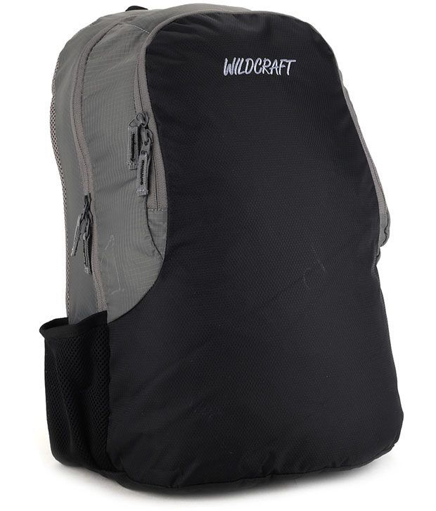 Wildcraft Grey Club Laptop Backpack