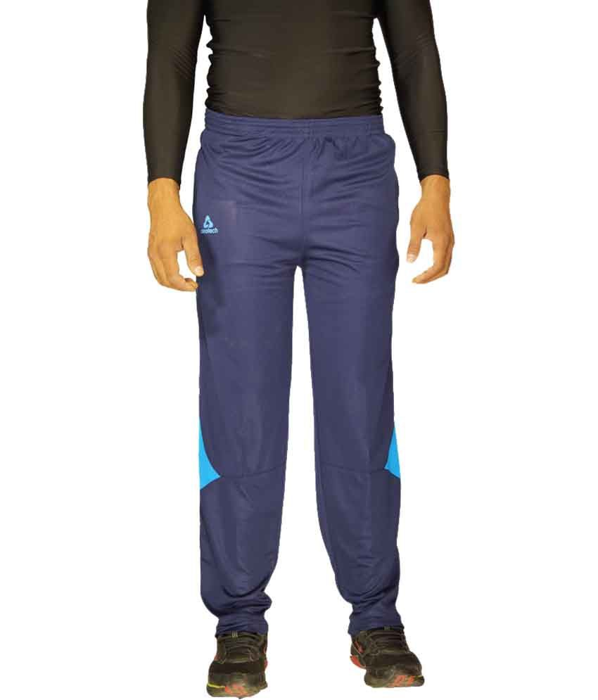 Aerotech Navy Polyester Trackpant