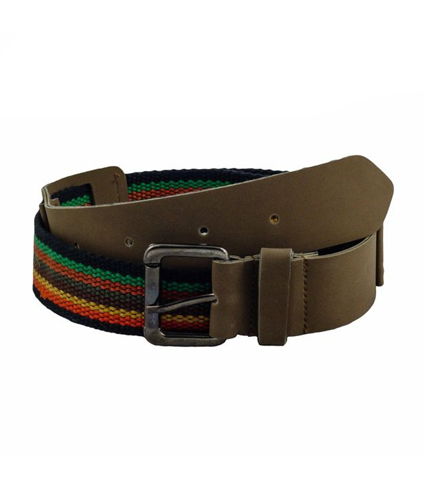 Shiven Good Quality Multi Color Cotton Belt