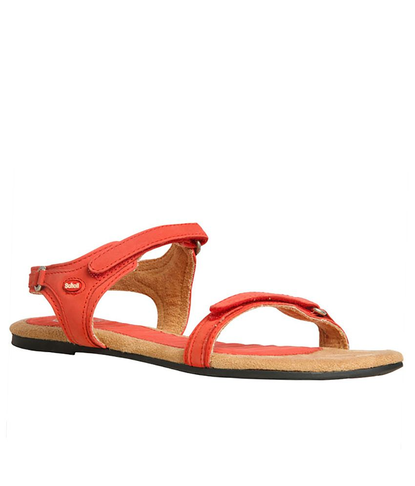 f23fafe05ab6 Dr.Scholls Red Colour Women Sandal Price in India- Buy Dr.Scholls Red  Colour Women Sandal Online at Snapdeal