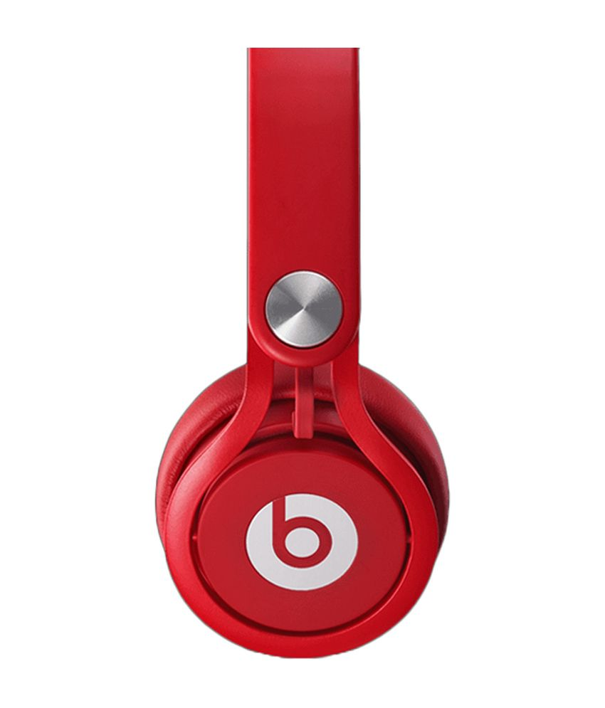 44cd8ac970a Beats Mixr On-Ear Headphone - Red - Buy Beats Mixr On-Ear Headphone - Red  Online at Best Prices in India on Snapdeal