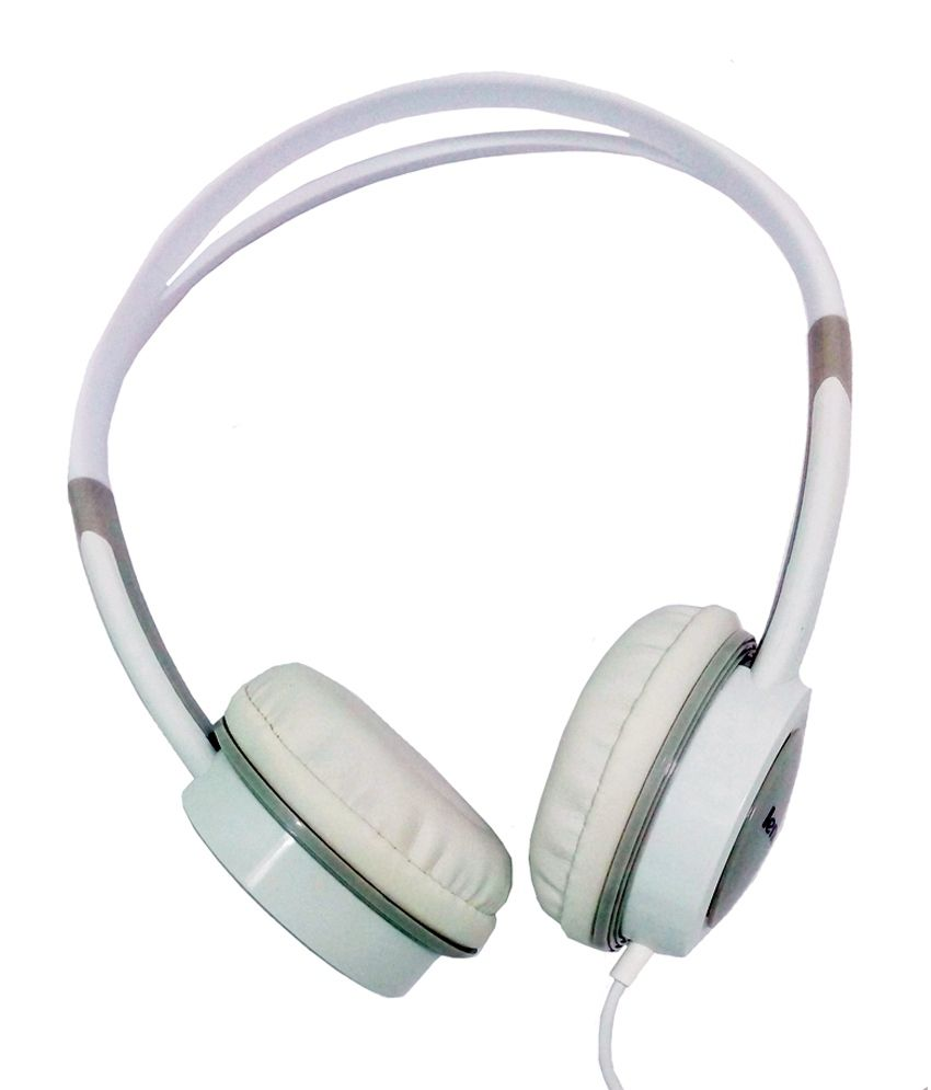 2f08b55233f Lenovo P410 (IN-W) On Ear Wired Headphones With Mic-White - Buy Lenovo P410  (IN-W) On Ear Wired Headphones With Mic-White Online at Best Prices in  India on ...