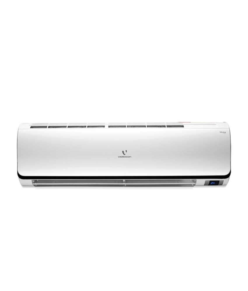 videocon 1 5 ton vsa55 ww1 split air conditioner wifi. Black Bedroom Furniture Sets. Home Design Ideas