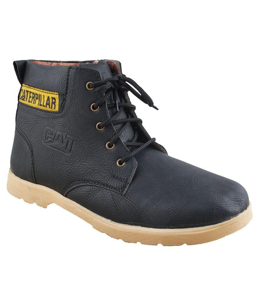 Euro Reel Shoe Cat Black Casual Shoe