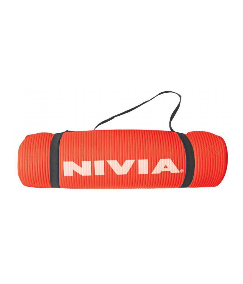 Nivia (Ym-443) Yoga Mat NBR Exercise Mat