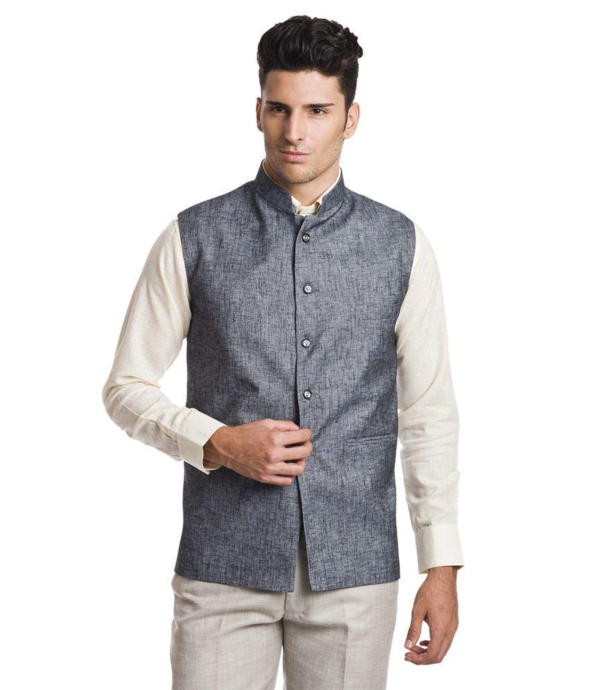 Wintage Regal Grey Waistcoat