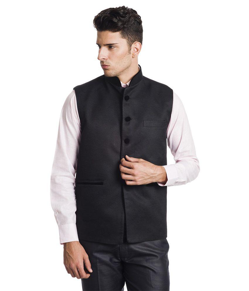 Wintage Splendid Black Waistcoat
